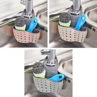 Washing Sponge Brush Storage Caddy Hanging Sink Drainer Basket Holder Pouch Rack