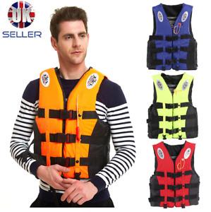 Adults Kids Life Jackets Vest Kayak Ski Buoyancy Aid Sailing Boating Watersport