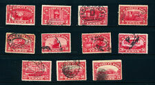 US Q1-Q11 1c-75c Parcel Post Used Total SCV $168