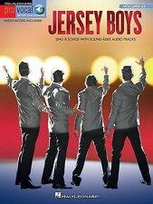Pro Vocal Vol.63 Jersey Boys Sing-Along Book *NEW* Sheet Music AAI 8 Songs