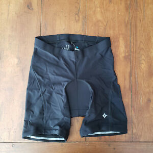 Specialized Womens Large Cycling Shorts Compression L BG Comp Chamois Black Pad