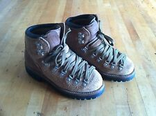 Men's Vtg Brown Suede DEXTER Backpacking Trail/Hiking Mountaineering Boots 6M