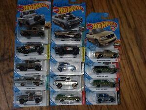Hot Wheels zamac lot of 14.Nova Wagon, Land Rover, Impala, Dodge D100 Honda City