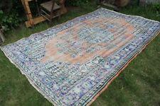 """Vintage Handmade Turkish Oushak Area Rug 123""""x77"""""""