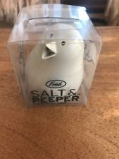Fred Salt & Pepper Shaker A Bird In The Hand 2 In 1 Very Cute White