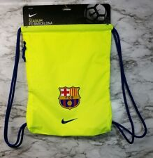 Nike Barcelona FC Soccer Backpack , Drawstring Bag, Training Football Club New