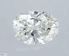 Oval Cut Natural Diamond 100% Real G SI1 0.66 Carat With Cert Amazing Top Stone