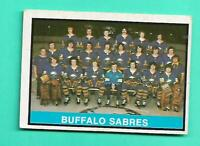 (1) MARKED TEAM CHECKLIST 1974-75 O-PEE-CHEE # 337 SABRES  GOOD CARD (V0138)