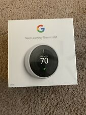 Google - Nest Learning Thermostat - 3rd Generation - White - T3017Us