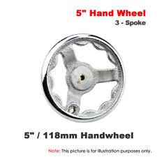 "1Pcs 5"" / 118mm Dish Spoke Cast Iron Hand Wheel for Lathe Milling Grinder"