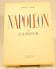 Napoléon et l'amour Octave Aubry dessins Bénito