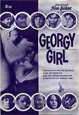 GEORGY GIRL 1966 James Mason, Alan Bates, Lynn Redgrave GERMAN BROCHURE