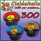 300 capsule cialde caffè Gimoka compatibili LAVAZZA BLUE a scelta