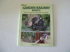 Garden Railway Basics Book- Kevin Strong