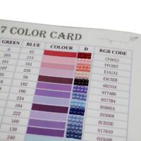 447 DMC Diamond Color Card Diamond Painting Full Range Rhinestone Identification
