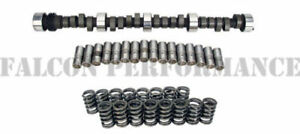 Chevy SB 283 305 327 350 400 RV/TORQUE Stage 1 Cam+Lifters+Valve Springs Kit