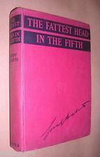 c1930s. THE FATTEST HEAD IN THE FIFTH. GUNBY HADATH. HARDBACK. SCHOOL STORY
