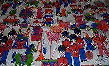 Cars Balloon vintage retro Animals dolls girls estate fabric material RARE kids