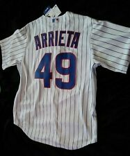 Chicago Cubs MLB Majestic Cool Base Jersey Jake Arrieta New With Tags Size Large