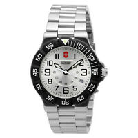 Victorinox Swiss Army Summit XLT Mens Watch Model 241346 silver dial