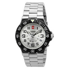 BLEM Victorinox Swiss Army Summit XLT Mens Watch Model 241346 silver dial