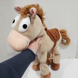 """Disney Parks Bullseye Horse Toy Story Large 21"""" Plush Stuffed Animal"""