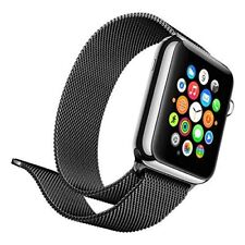 Lumina Apple Watch Band Magnetic Clasp Milanese 42MM Stainless Steel Top Quality