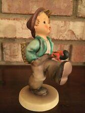 "New ListingHummel ""Globe Trotter"" #79 Tmk5 Boy Happy Traveler - 5 inch Figurine"