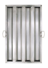 """Winco Hfs-1625 25"""" Height x 16"""" Width Stainless Steel Hood Filter"""