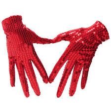 Kostüme Handschuhe in Rot