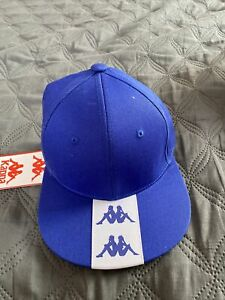 Mens Kappa Hat Snapback Blue New With Tags