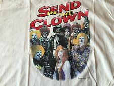 Emmett Kelly Jr Send In The Clown Tshirt Xl Flambro 1997 Rare circus