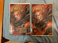 Venom #27 Jonboy Meyers Exclusive Variant 1ST CODEX!! Set of 2 Virgin and Trade