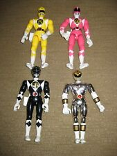"Mighty Morphin POWER RANGERS Bandai 1995 action figures lot 8"" talking dolls"
