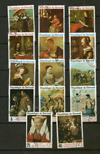 "Selection of ""Art"" stamps.    39p ask."