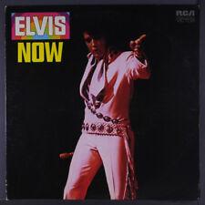 ELVIS PRESLEY: Elvis Now LP (orange label, company Elvis inner sleeve) Oldies