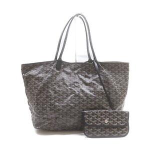 GOYARD Tote Bag  Black PVC 1420900