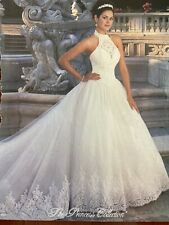 Demetrios Princess Collection Wedding Dress , Size 16 , Worn Once And Preserved