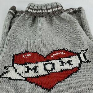 "Chill Dog - Authentic Chilly Dog Brand Dog Sweater Tatooed ""MOM"" Size XXL NWT"