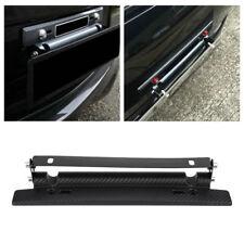Universal Car Carbon Fiber Adjustable License Plate Frame Holder Mount Bracket