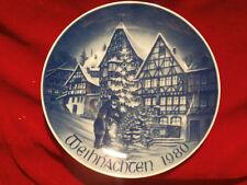 Bareuther Waldsassen Bavaria Weihnachtsteller Sammelteller 1980 Miltenberg