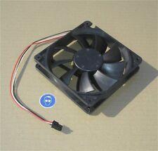 _ Lüfter Ventilator ca 120mm 12cm 12V Volt DC 0,25A schwarz NMB  +SdfkPlakette