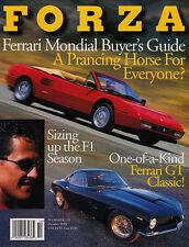 Forza Magazine Oct 1999 #19 - Ferrari Mondial Cabriolet, Bertone 250 SWB, 308GTB