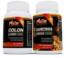 Garcinia Cambogia Weight Loss & Colon Cleanse Easy Detox Diet Plan pure extract