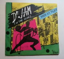 """MEN AT PLAY : Dr. JAM (In The Slam) 7"""" 45T 1983 France VOGUE 101809"""