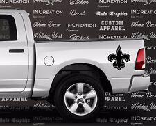 New Orleans Saints x2 Truck Car Vinyl Decals, Sticker Football team banner logo