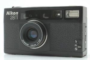 [ MINT ] Nikon 28Ti Black Point & Shoot 35mm Film Camera from Japan