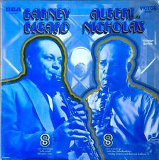 BARNEY BIGARD / ALBERT NICHOLAS - SELF TITLED - RCA LP - VINTAGE SERIES - SHRINK