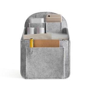 Insert Liner Bag Pouch Backpack Organizer Handbag Felt For Travel Durable