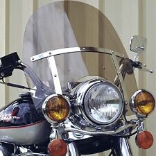 "Harley Davidson Road King windshield tinted OEM height 19"" Lexan polycarbonate"